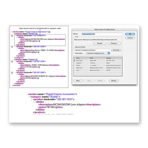 xml data pattern easycatalog xml module for indesign buy now