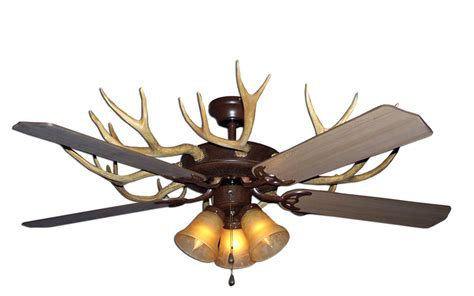 deer horn ceiling fans deer horn ceiling fans lighting and ceiling fans