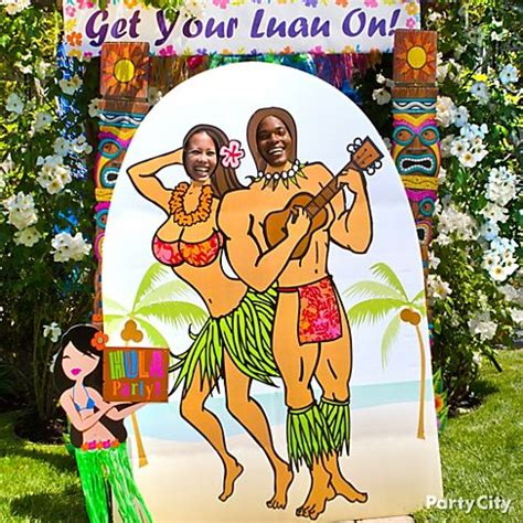 printable photo booth props luau graduation end of luau party photo booth ideas party city