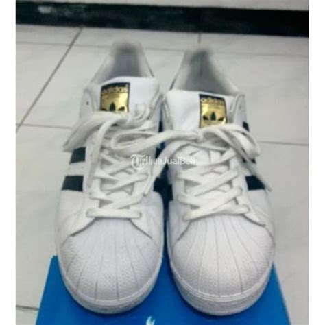 Sepatu Adidas Putih 3 sepatu adidas superstar original bekas warna putih size 41