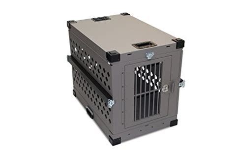 x large crate impact collapsible crate x large gray k9 crates