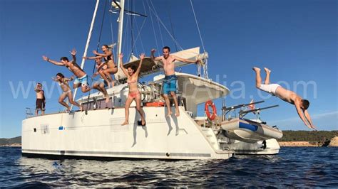 yacht charter ibiza catamaran yacht sailing boat hire - Catamaran Day Hire Ibiza