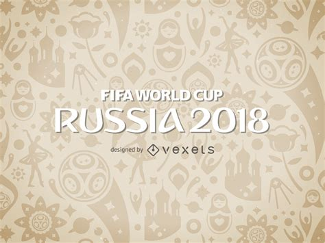pattern design competition 2018 russia 2018 world cup pattern vector download