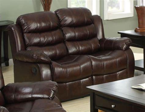rustic reclining sofa berkshire rustic brown reclining loveseat from furniture