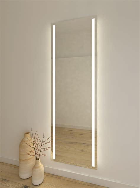 espejo para vestidor espejo vertical para vestidor con luz led en ambos lados