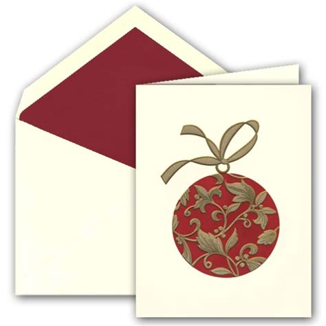 ornament christmas greeting cards paperstyle