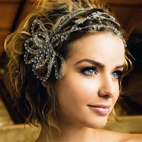adding a bit of wavy hair 20 best wedding hairstyles for short hair