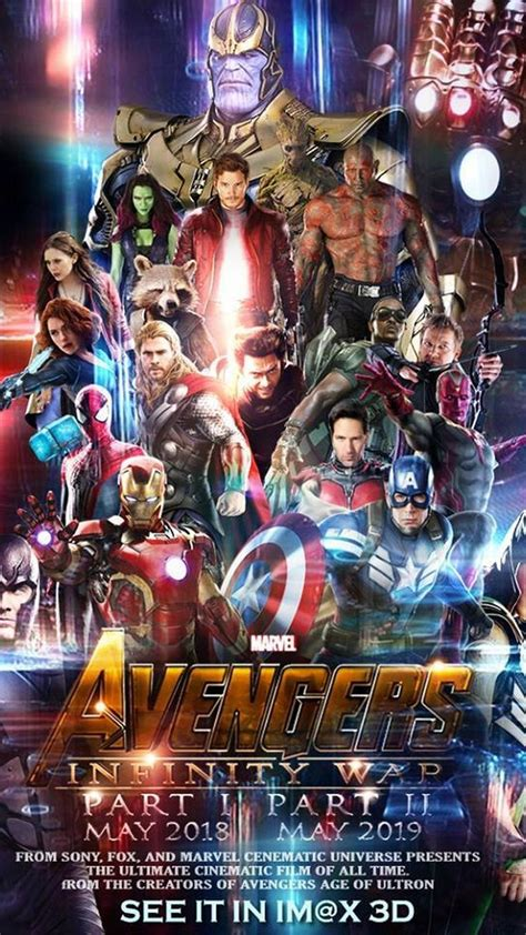 avengers infinity war characters wallpaper android