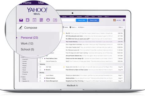 How To Search Email In Yahoo Yahoo Mail 4 0 Is Out Reved Ui Smarter Search Mailboxes Rich Compose