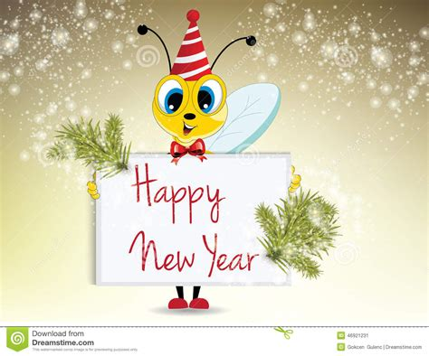 new year illustration happy new year stock illustration image 46921231