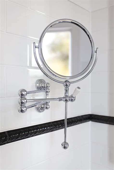 bathroom shaving mirrors wall mounted wall mounted shaving mirror perrin and rowe
