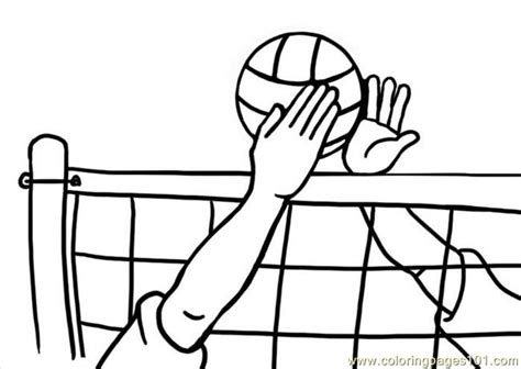 free printable volleyball tags coloring pages volleyball1 sports gt volleyball free