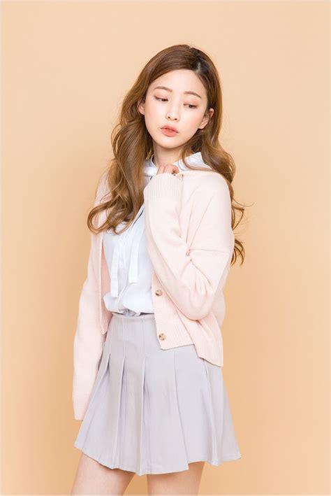 Cadigan Casual Hitam Hijau Pink Korean Style 1300 mejores im 225 genes de fashion en estilos de moda coreanos moda asi 225 tica y moda