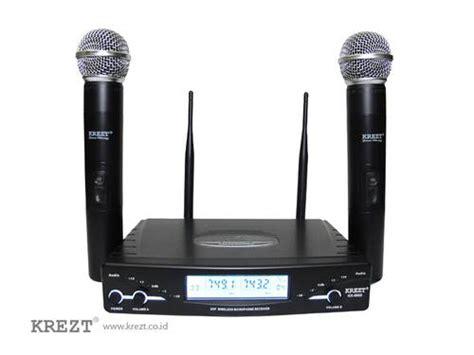 Mic Wireless Krezt Kx 8828 Pegang dinomarket pasardino microphone wireless jts mipro samson akg krezt original