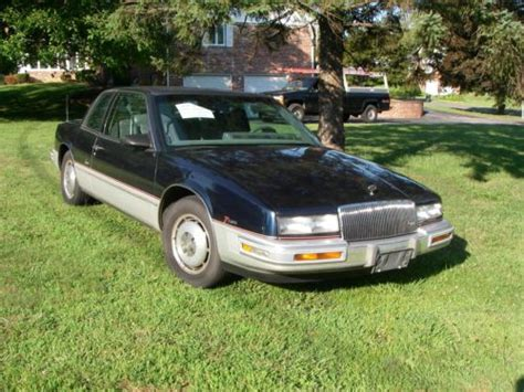how cars work for dummies 1988 buick riviera security system purchase used 1988 buick riviera t type 25th anniversary edtition in wallingford pennsylvania