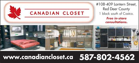 Canadian Closets by Canadian Closet Deer County Ab 409 Lantern St
