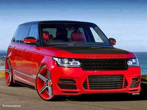 Red Range Rover Tuned Wallpaper Exotic Cars Suvs