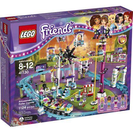 N Friends Roller Coaster lego friends amusement park roller coaster 41130 walmart