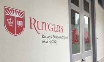Rutgers Business School Mba Deadline by Rutgers Business School Executive Mba In Singapore