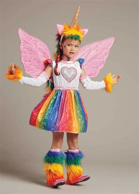 magical unicorn  rainbow costumes  kids