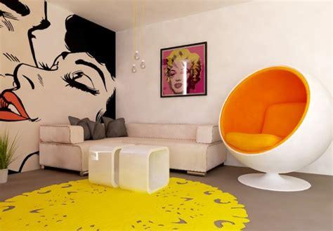 Salon Moderne Design #1: Salon-moderne-pop-art.jpg