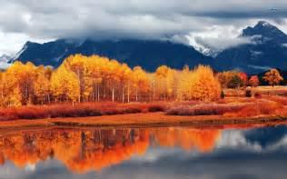 fall landscaping autumn landscape wallpaper