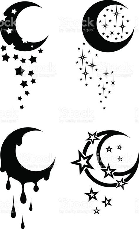 imagenes en blanco y negro de la luna tatuajes tribales del blanco y negro de la luna y las