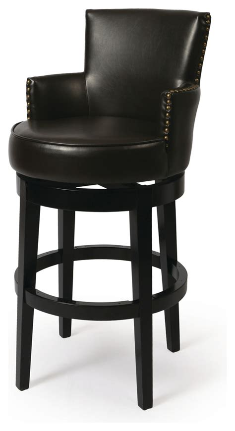 How high are the arms for the counter height stool?