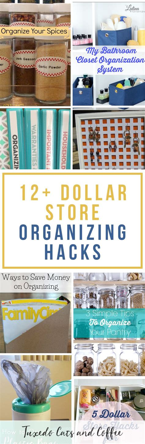 dollar store organization hacks best 25 organizing your home ideas on pinterest