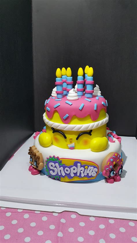 First Birthday Party Decorating Ideas Shopkins Cake Cakecentral Com