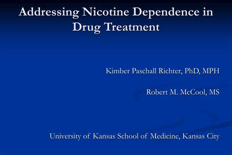 Treatment To In Minutes Second City Style Fashion by Ppt Addressing Nicotine Dependence In Treatment
