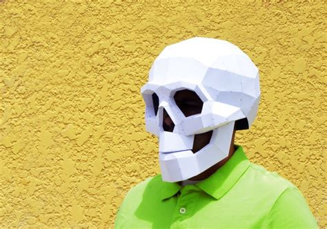 Papercraft Costume - get your own diy paper mask 12 day extension by luis