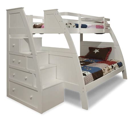 on bunk beds with stairs bunk bed with stairs home decorator shop