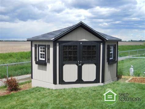 garden shed  everett corner unit shed solutions