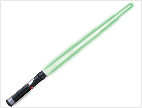 green lightsaber wars jedi master green lightsaber partybell