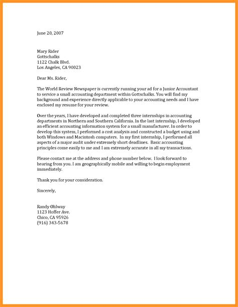 general cover letters for employment bio letter format