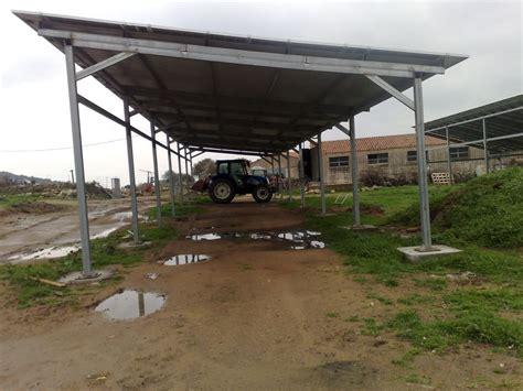 tettoia in ferro zincato tettoia in ferro zincato con strutture agricole archivio