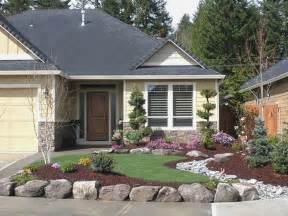 simple landscaping ideas for ranch style home