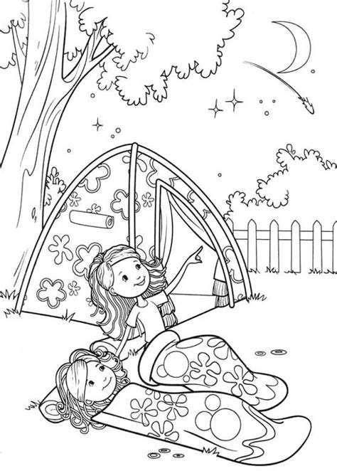 girl scout cing coloring pages girl scout craft