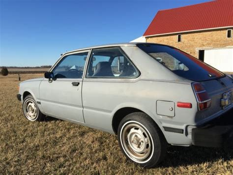 1982 Toyota Corolla Hatchback 1982 Toyota Corolla Tercel Hatchback Survivor