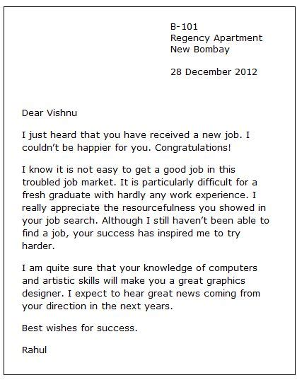 up letter to someone you new congratulation letter exle of an email