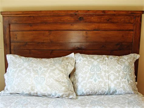 build a wood headboard how to build a rustic wood headboard how tos diy