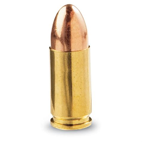 Bullet To The fiocchi 9mm luger fmj 124 grain 1 000 rounds 105368