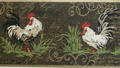 rooster wallpaper country 17 best images about rooster kitchens on