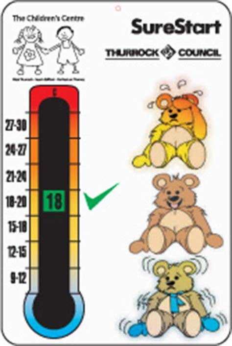 what room temperature is best for babies child baby safety thermometers temperature indicators for their bedroom and nursery