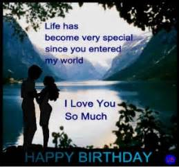 I Love You Birthday Quotes by Happy Birthday Quotes For Him Quotesgram
