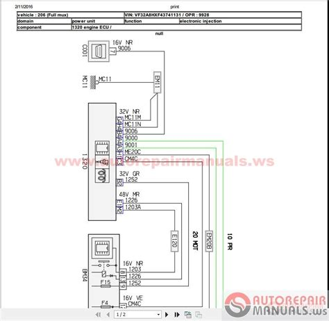 peugeot 206 1 4 hdi workshop manual wiring auto repair