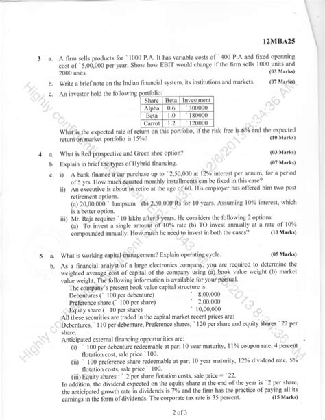 Smu Model Question Paper For Mba 4th Sem Finance by Research Methodology Question Paper Smu