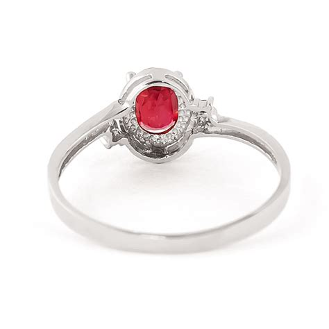 ruby ring ruby rings white gold