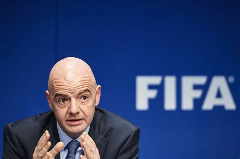 fifa president fifacom infantino defends 40 team world cup plan sport the